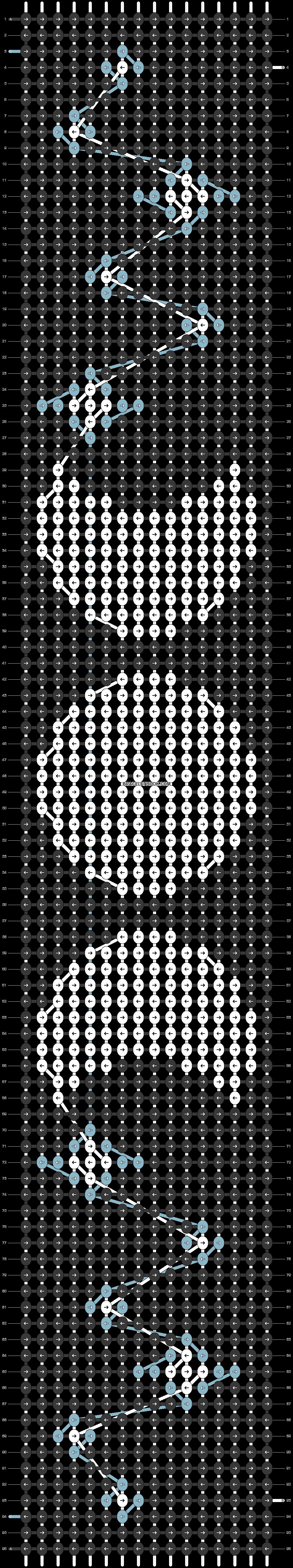 Alpha pattern #36561 pattern