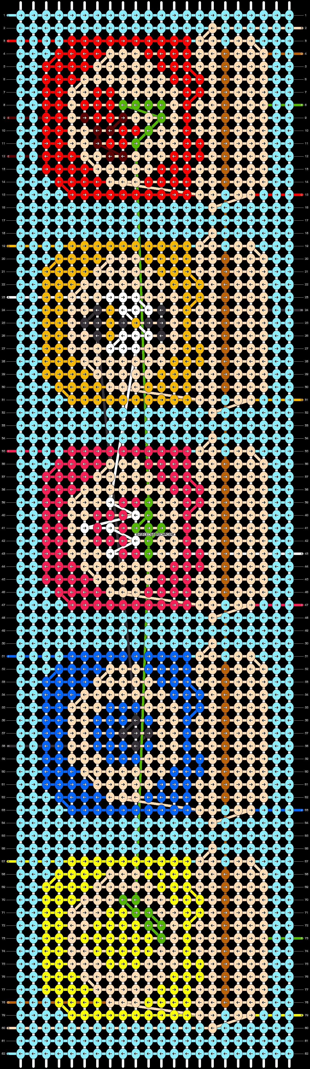 Alpha pattern #36582 pattern