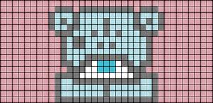 Alpha pattern #36596