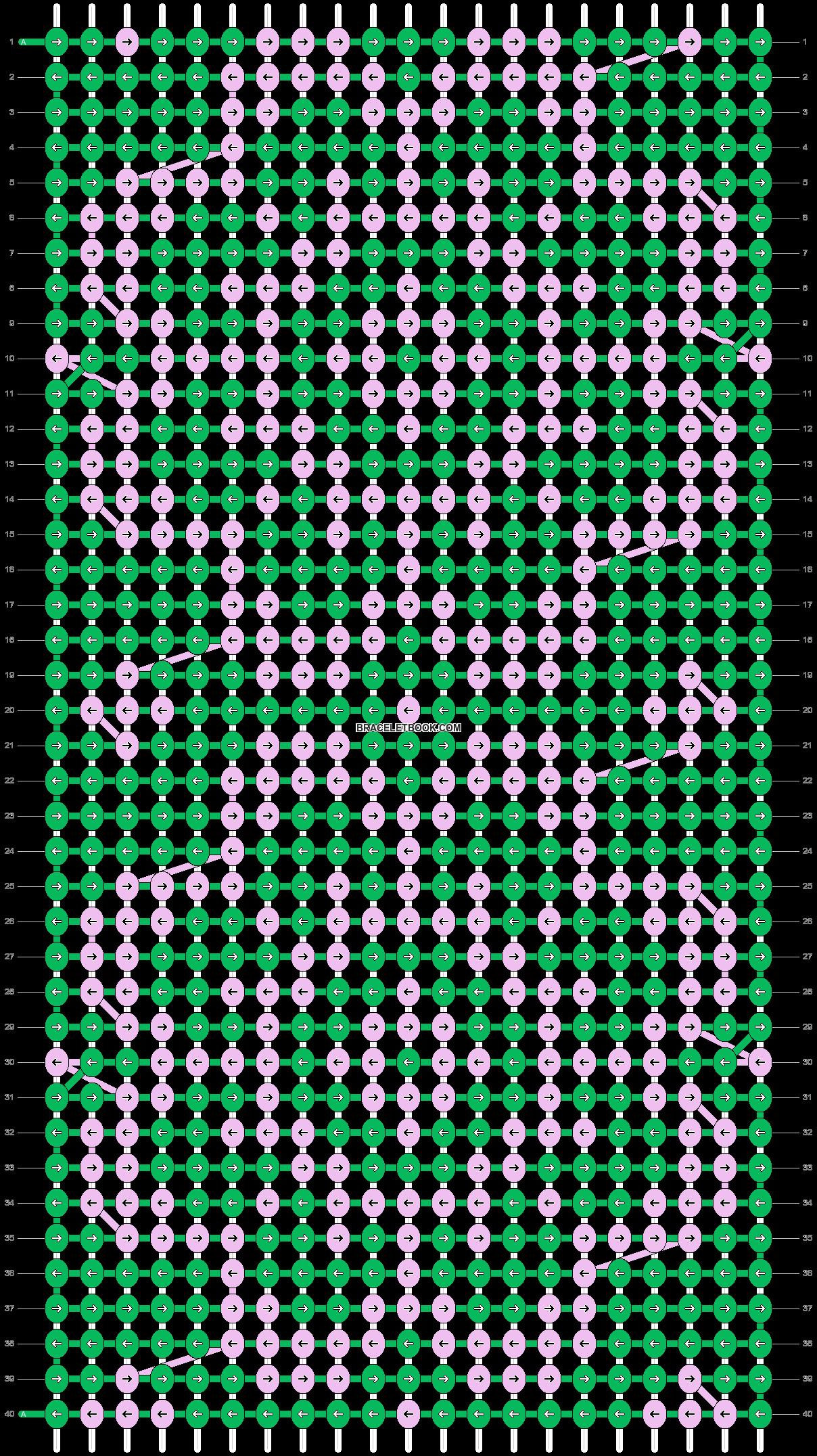 Alpha pattern #36608 pattern