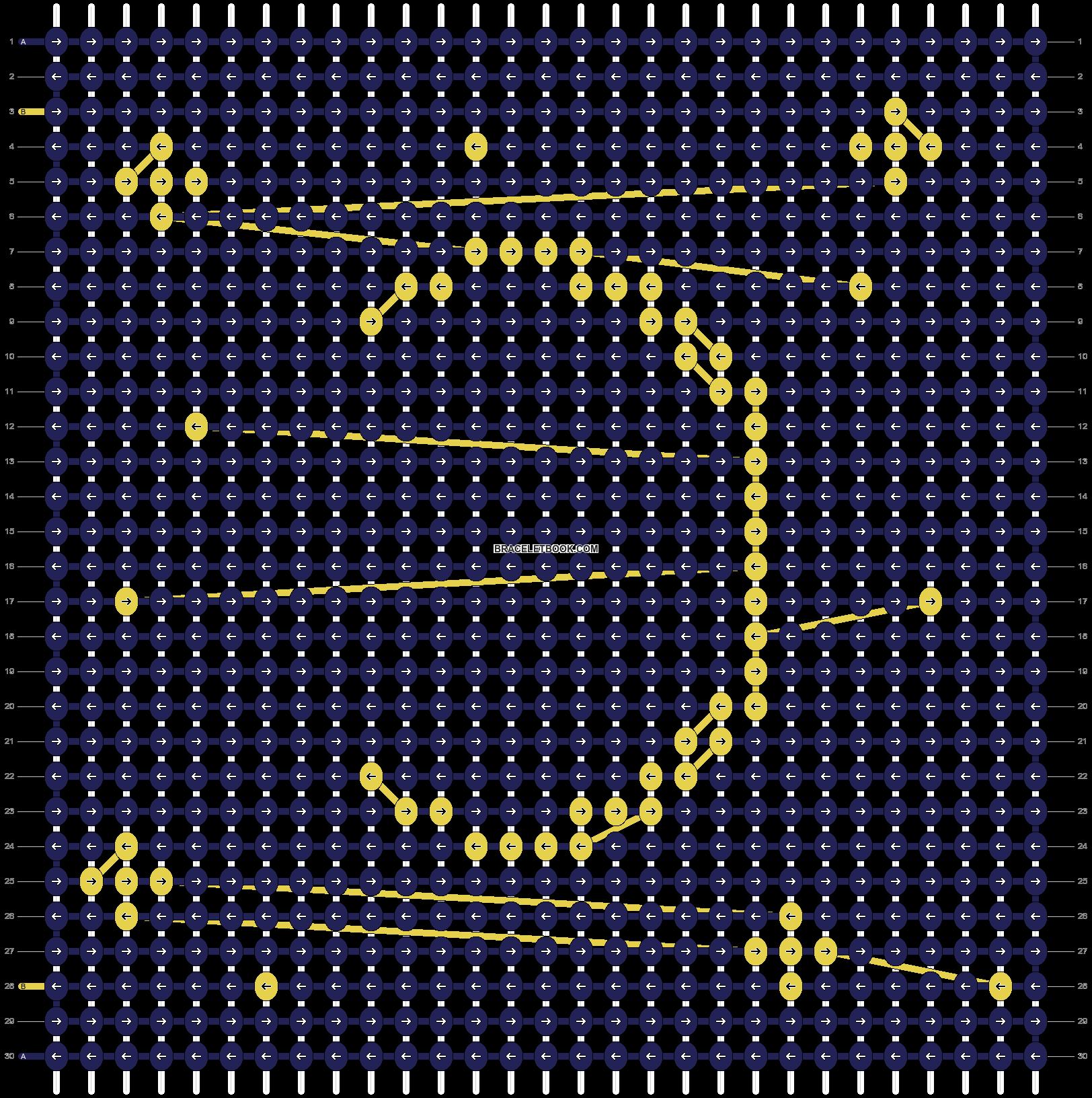 Alpha pattern #36613 pattern