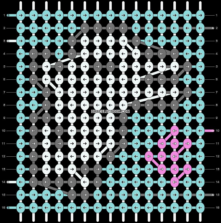 Alpha pattern #36619 pattern