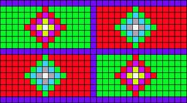 Alpha pattern #36623