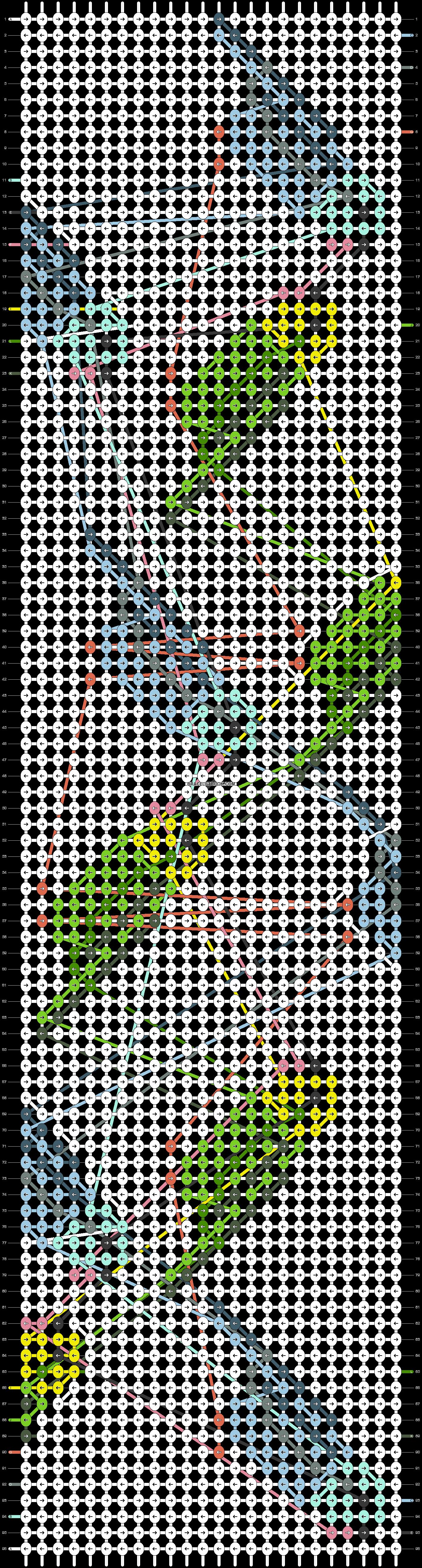 Alpha pattern #36643 pattern
