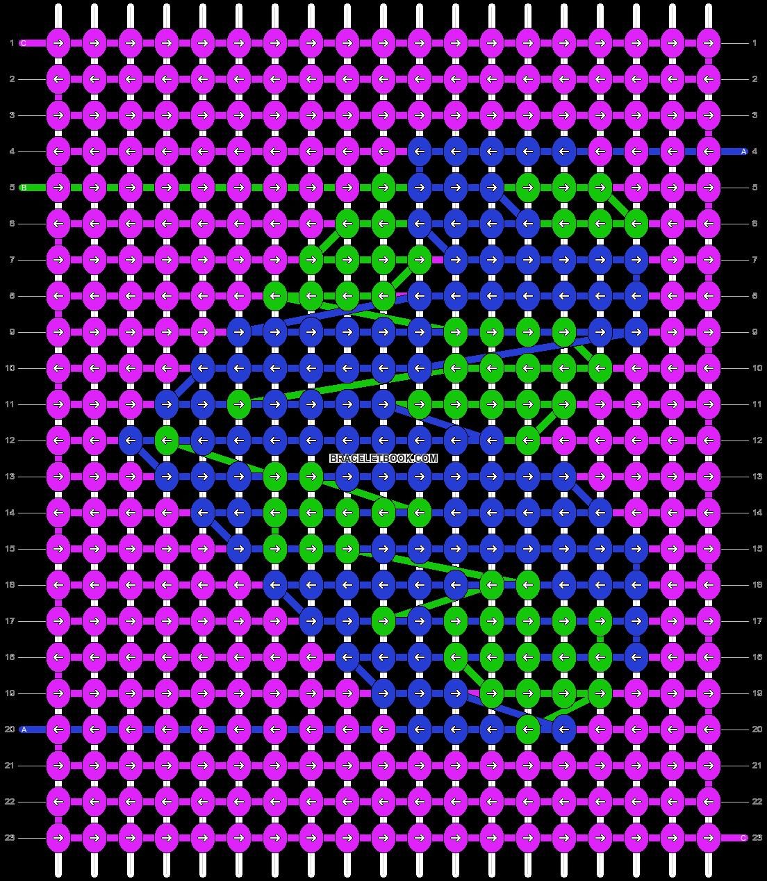 Alpha pattern #36665 pattern