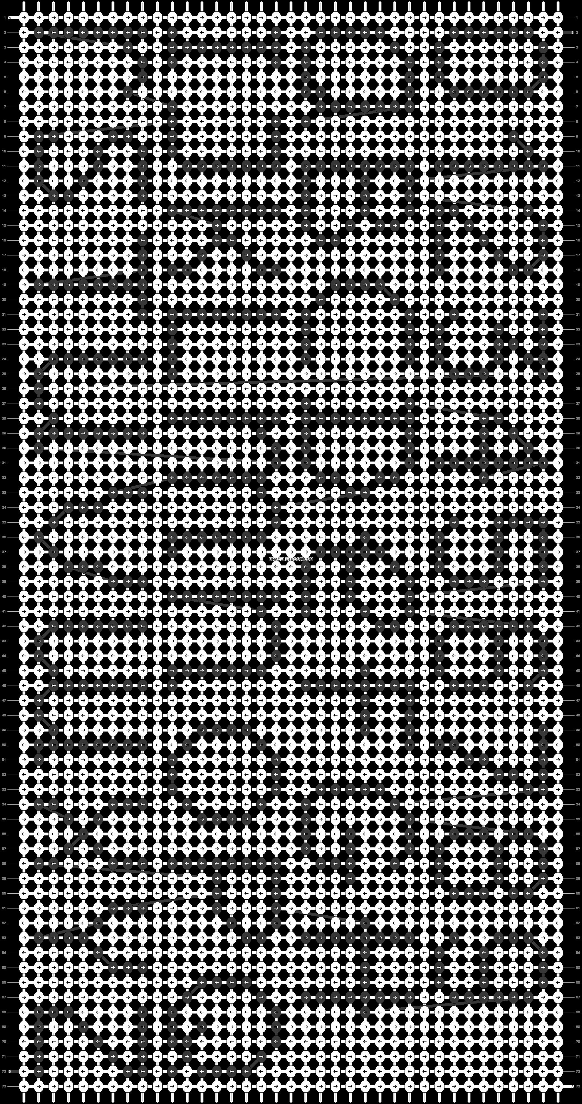 Alpha pattern #36689 pattern