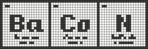 Alpha pattern #36699