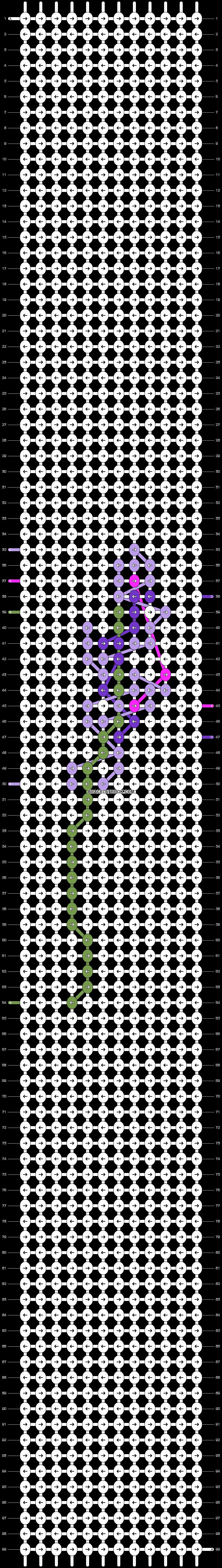 Alpha pattern #36704 pattern