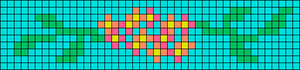 Alpha pattern #36723