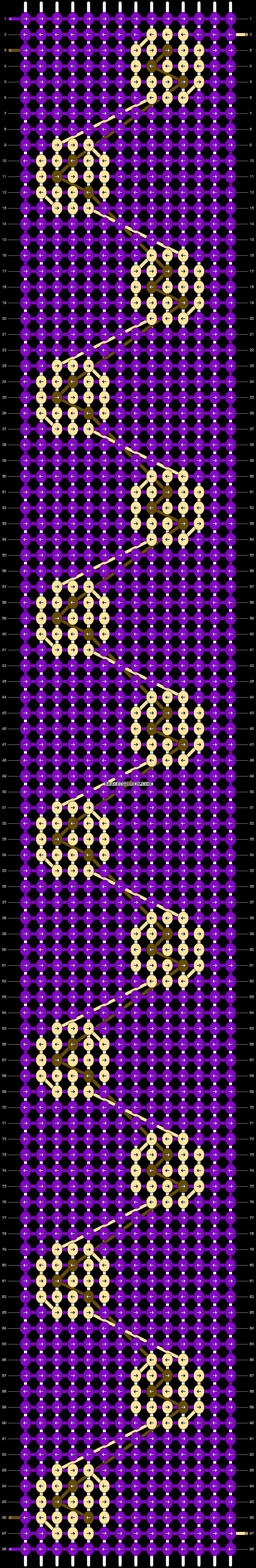 Alpha pattern #36767 pattern