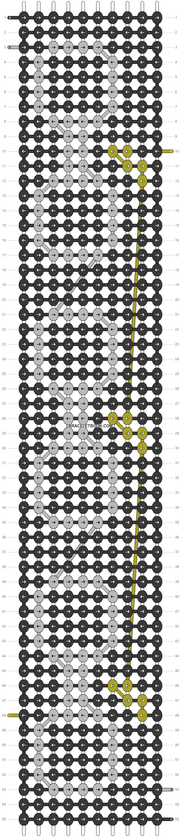 Alpha pattern #36802 pattern