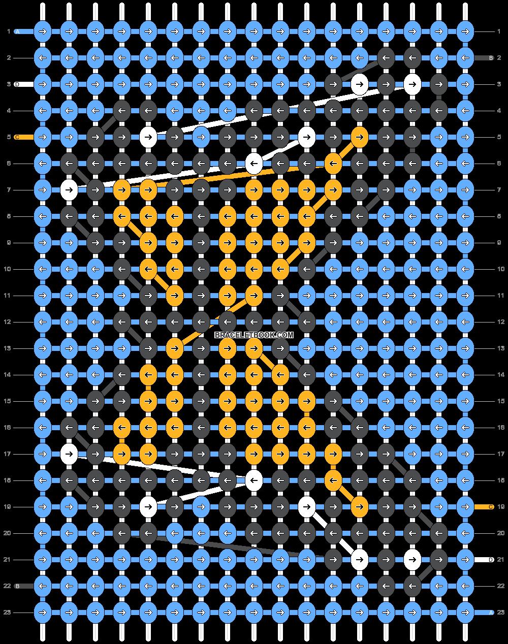 Alpha pattern #36818 pattern
