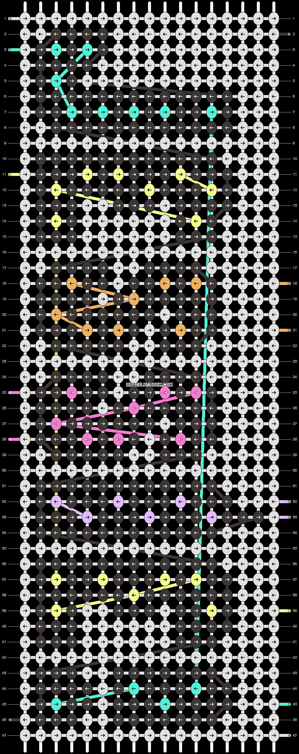 Alpha pattern #36845 pattern