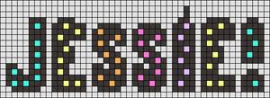 Alpha pattern #36845