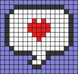 Alpha pattern #36860