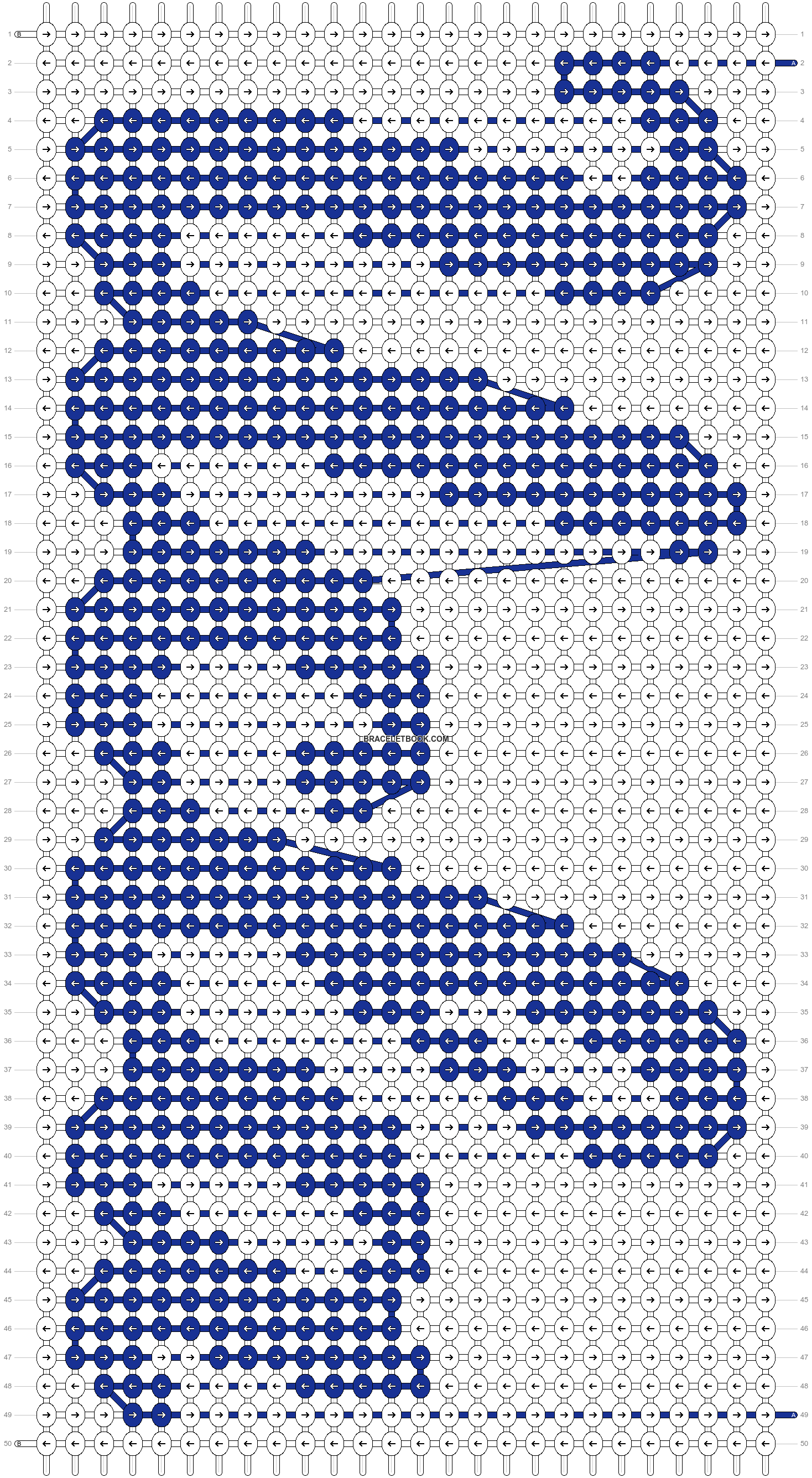 Alpha pattern #36868 pattern
