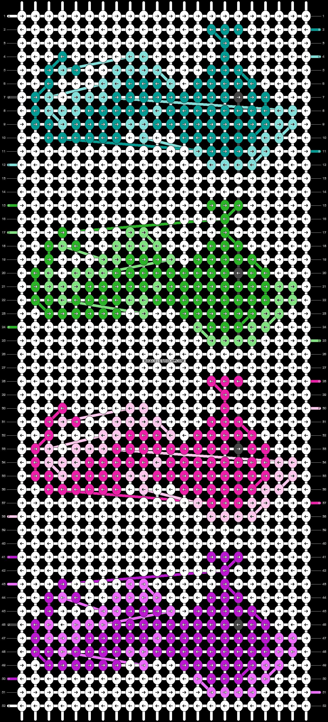 Alpha pattern #36900 pattern