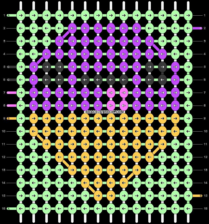 Alpha pattern #36933 pattern