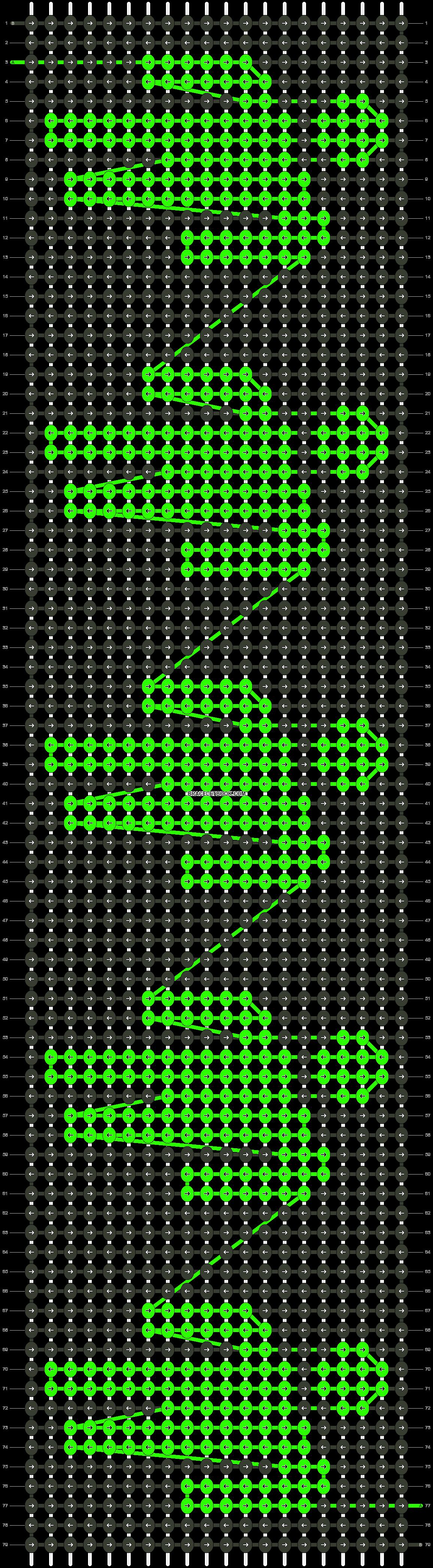 Alpha pattern #36941 pattern