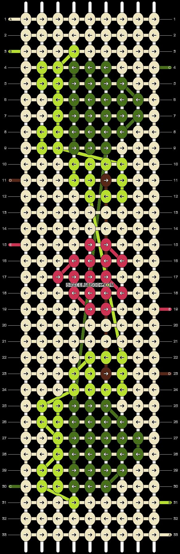Alpha pattern #36956 pattern