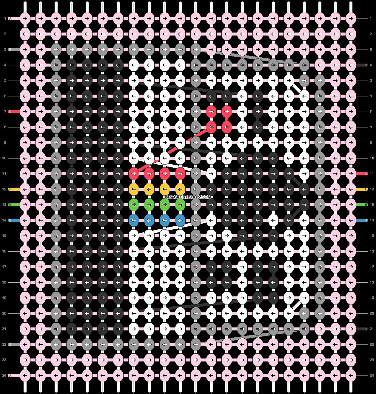 Alpha pattern #36958 pattern