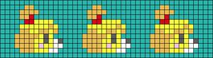 Alpha pattern #36964