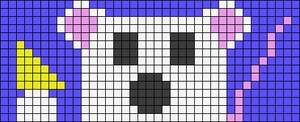 Alpha pattern #36987