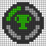 Alpha pattern #36991