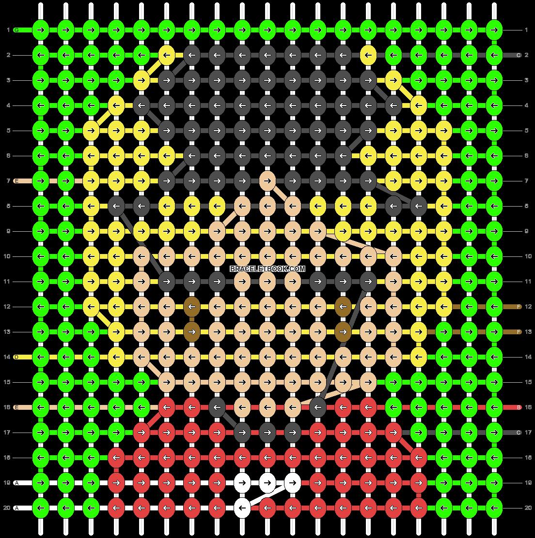 Alpha pattern #36993 pattern