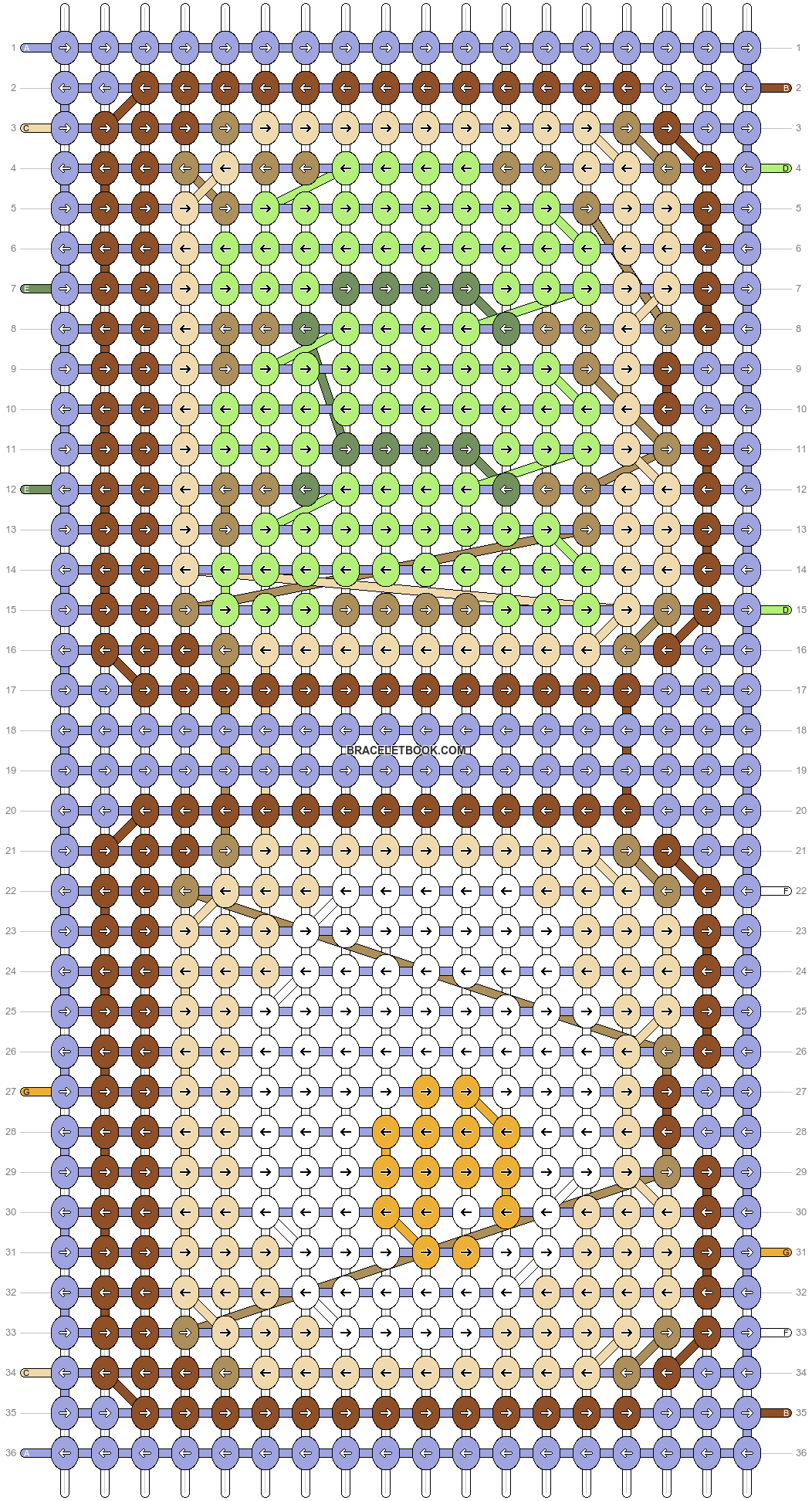 Alpha pattern #37048 pattern