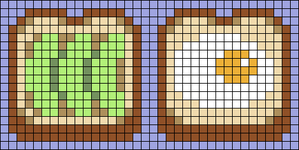 Alpha pattern #37048