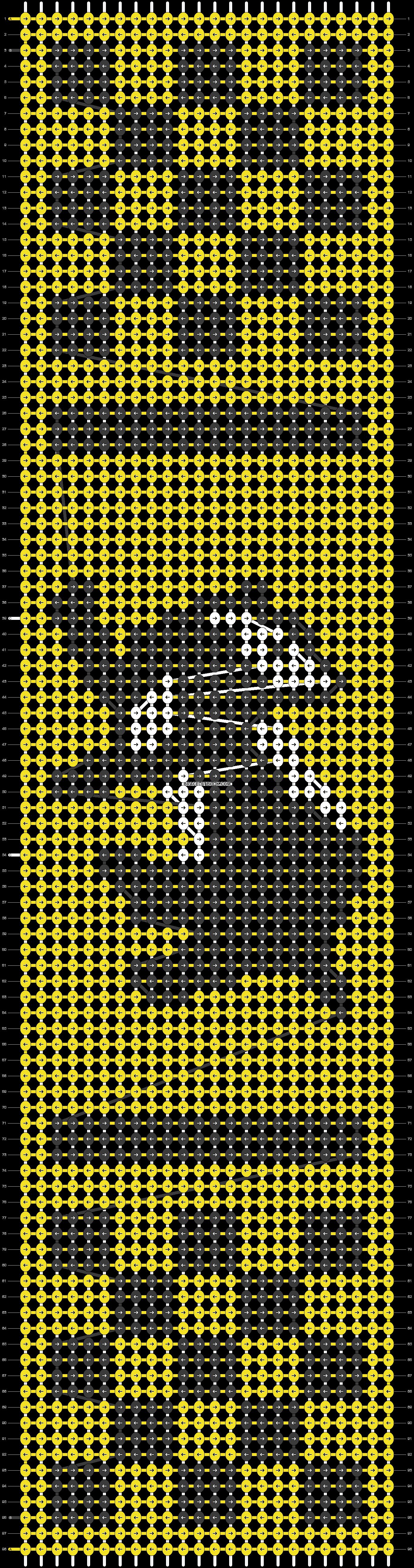 Alpha pattern #37053 pattern