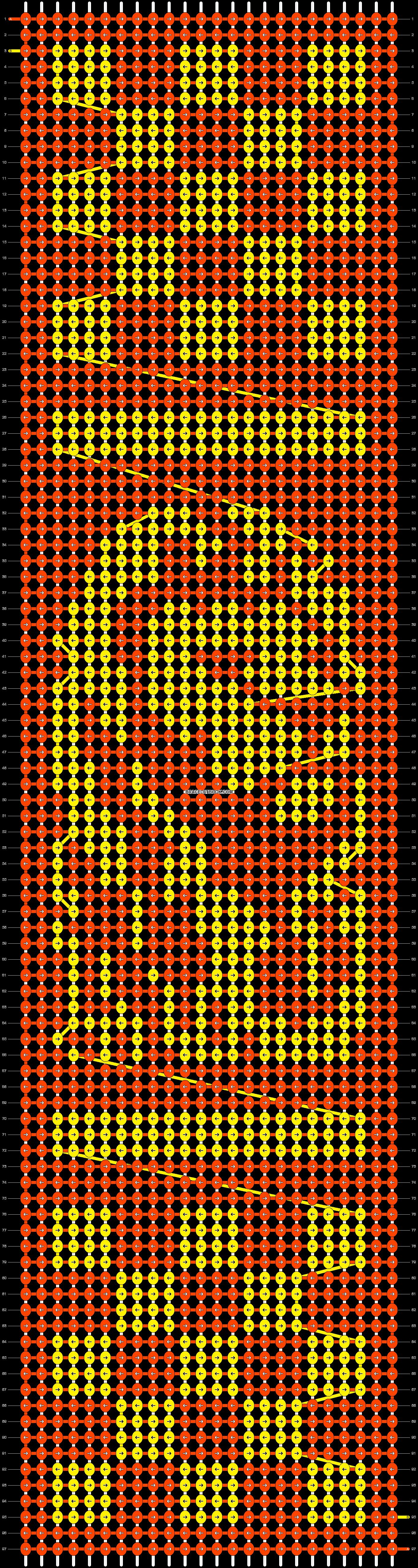 Alpha pattern #37054 pattern