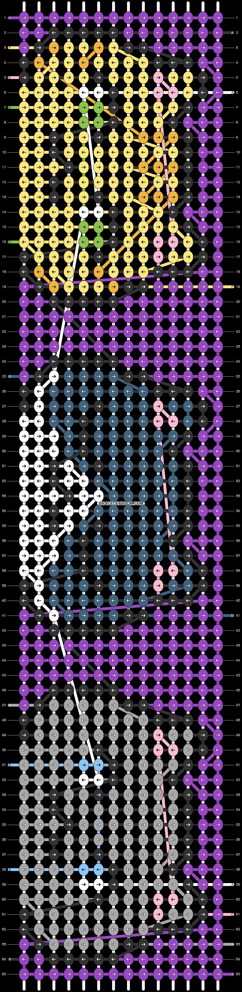 Alpha pattern #37150 pattern