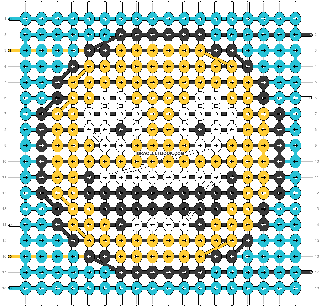 Alpha pattern #37153 pattern