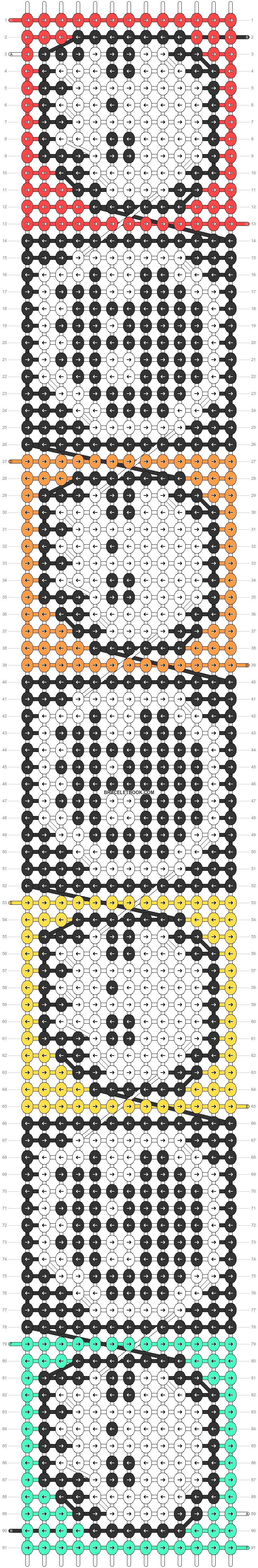 Alpha pattern #37156 pattern