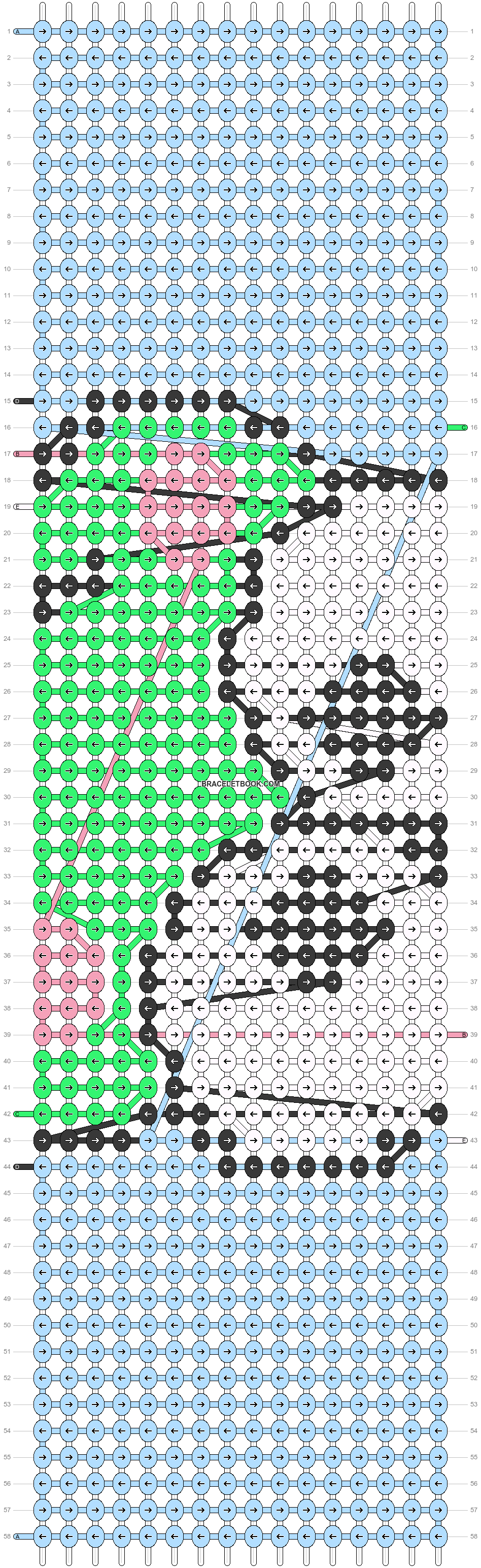 Alpha pattern #37166 pattern