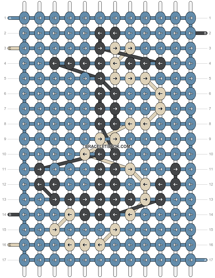 Alpha pattern #37195 pattern