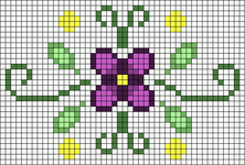 Alpha pattern #37199