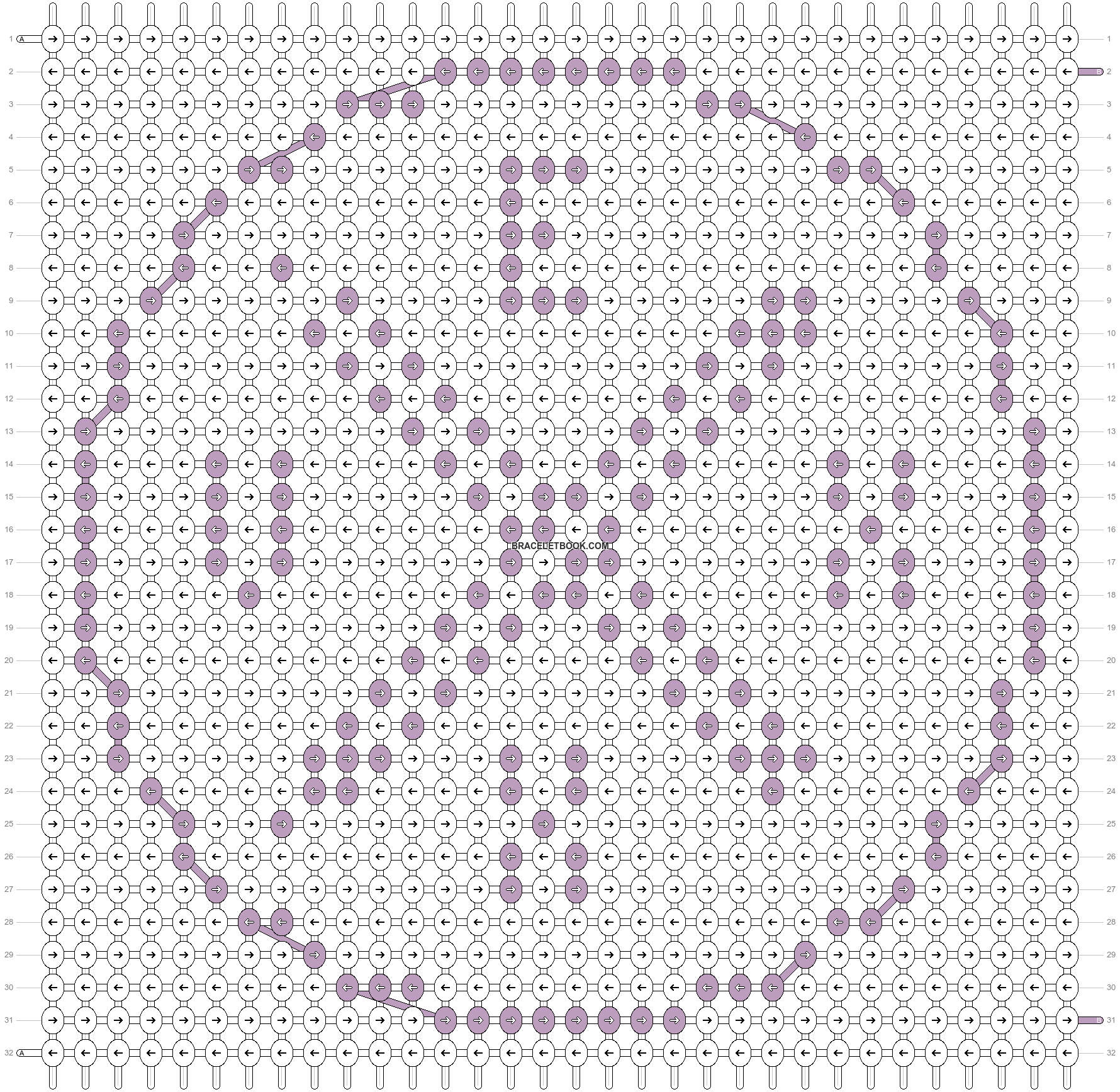 Alpha pattern #37206 pattern