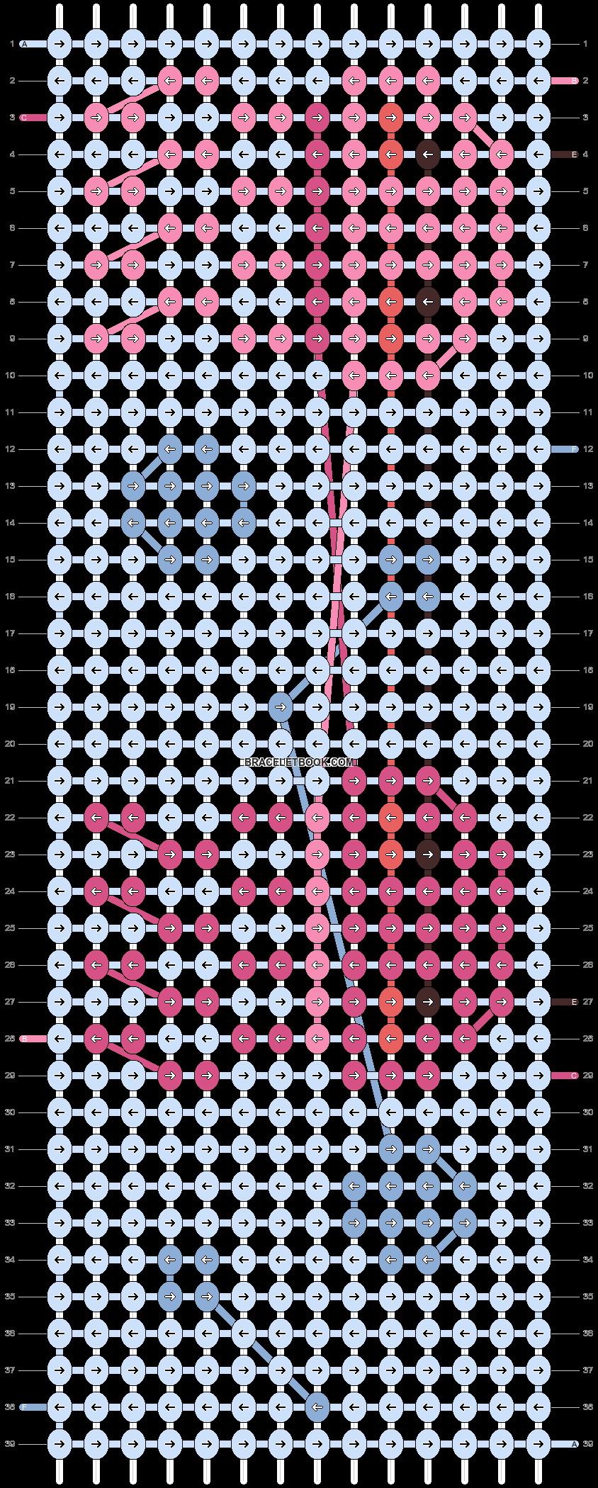 Alpha pattern #37208 pattern