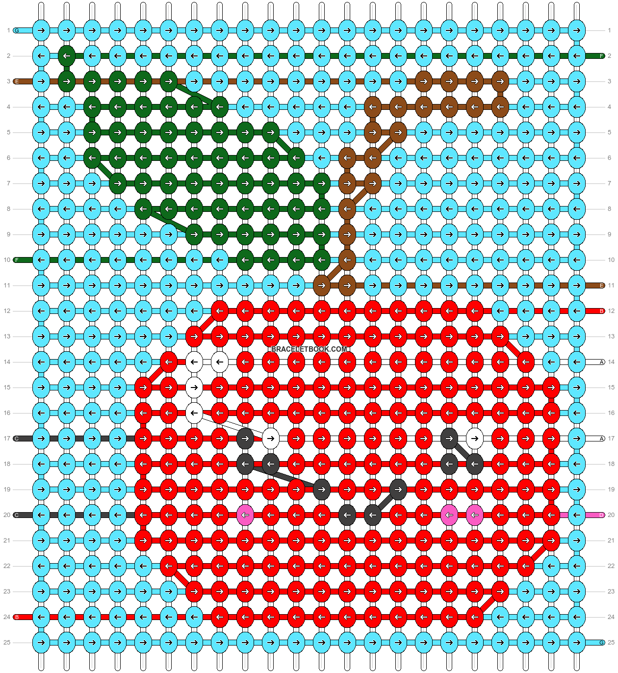 Alpha pattern #37217 pattern