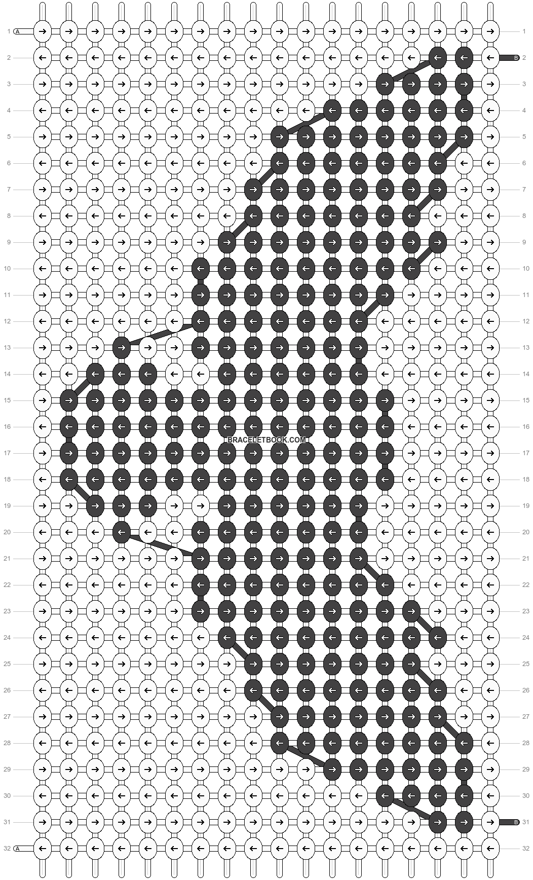 Alpha pattern #37224 pattern
