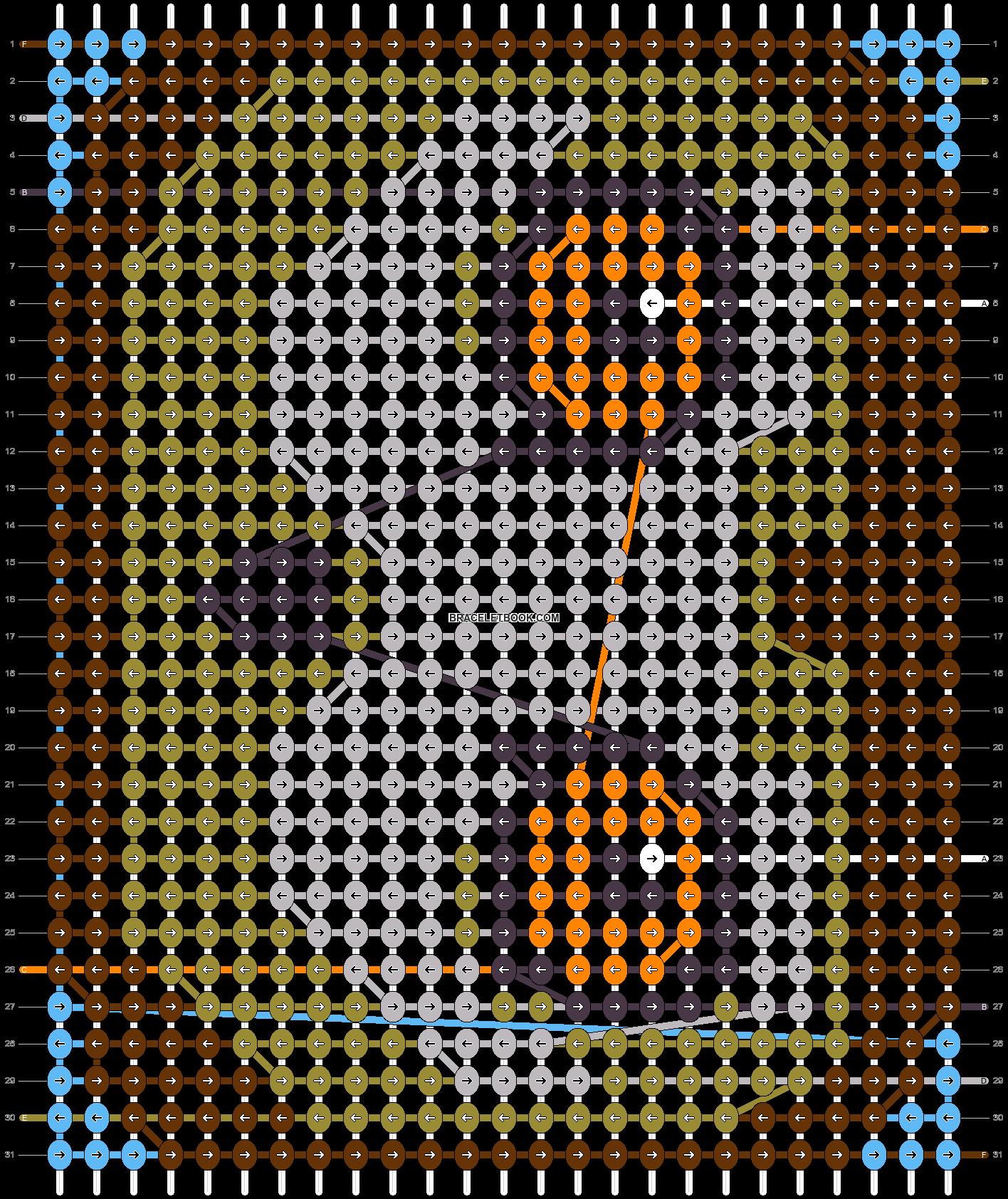 Alpha pattern #37257 pattern
