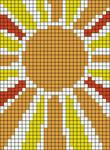 Alpha pattern #37292