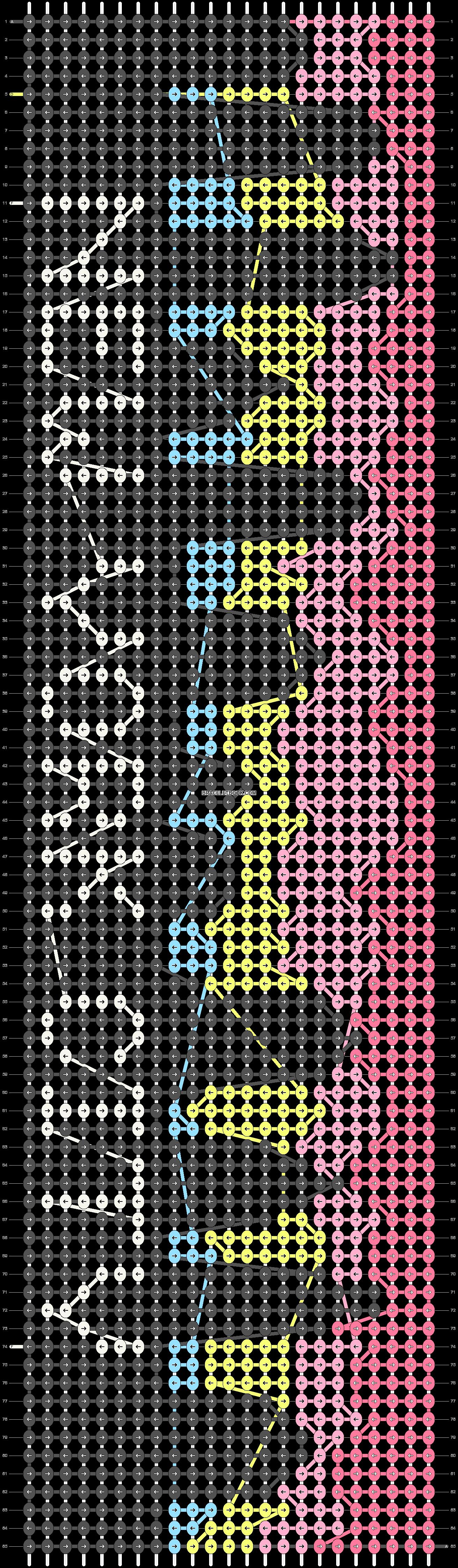 Alpha pattern #37386 pattern