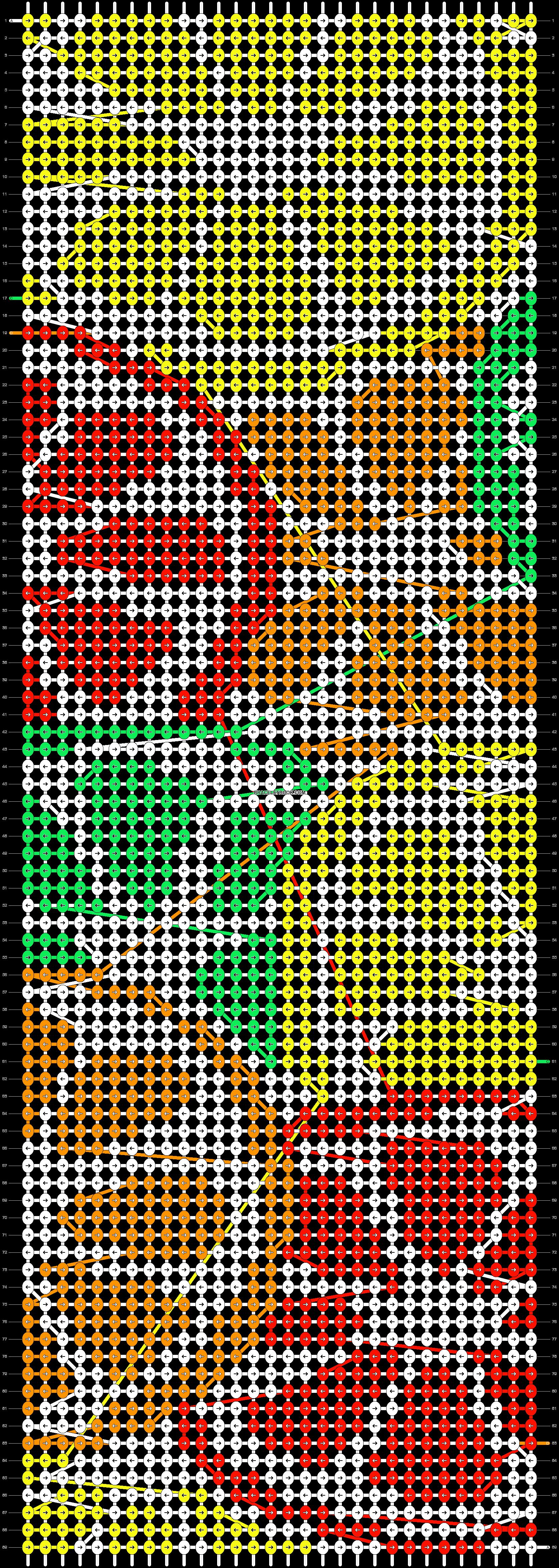 Alpha pattern #37387 pattern