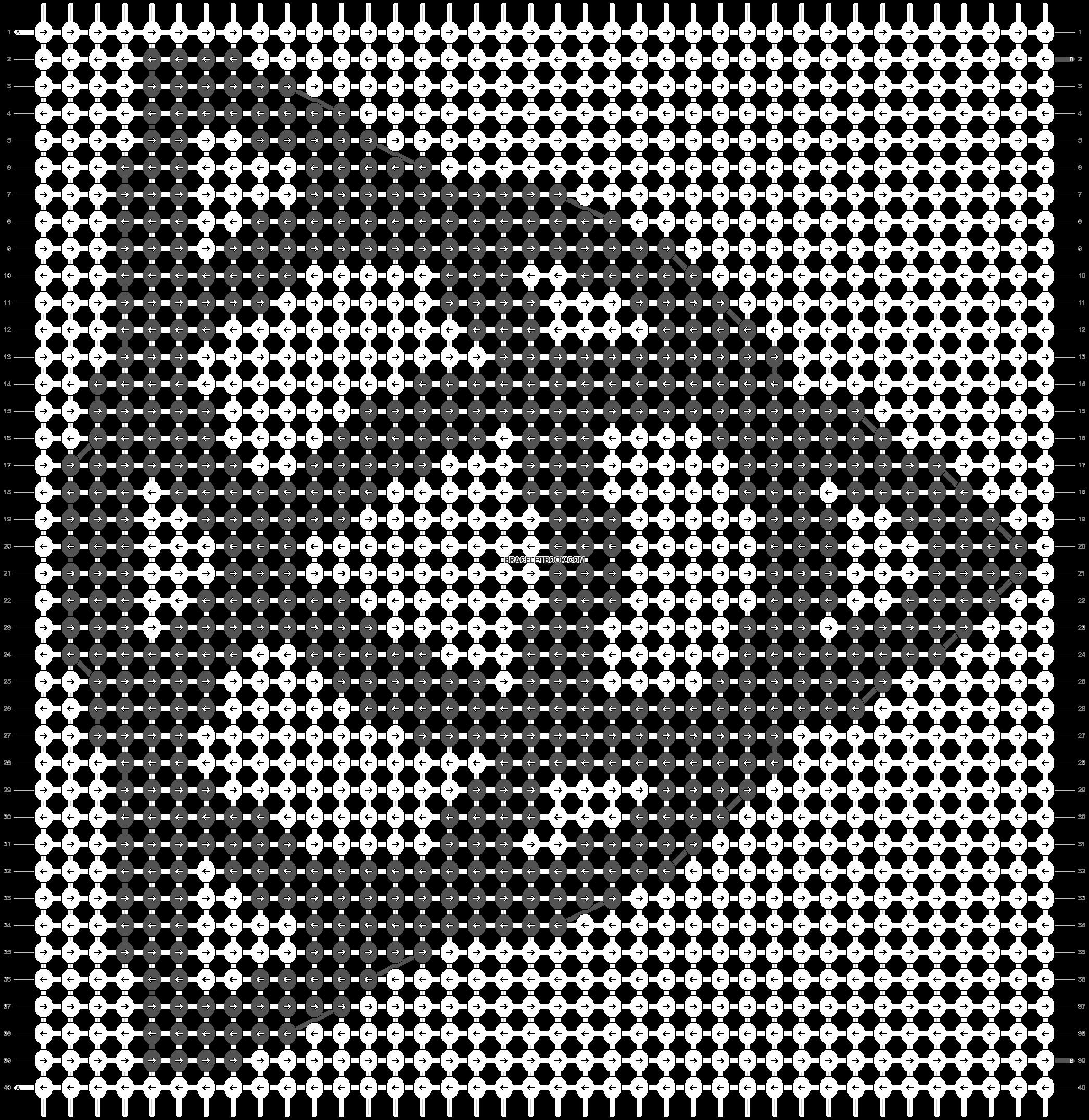 Alpha pattern #37394 pattern