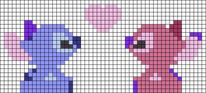 Alpha pattern #37405