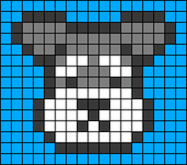 Alpha pattern #37408